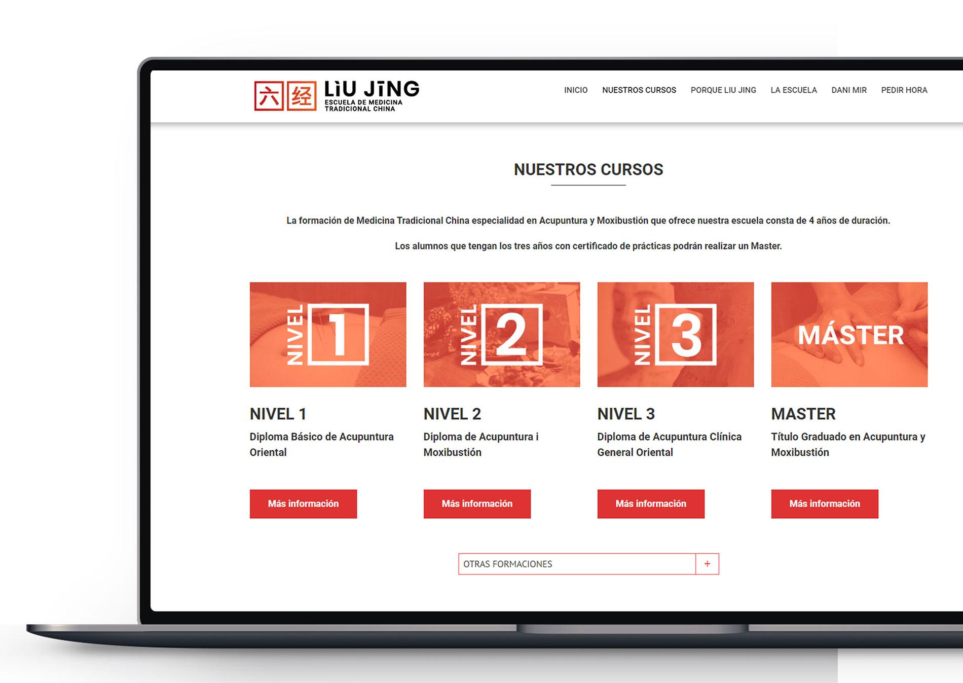 Web Escola Liu Jing