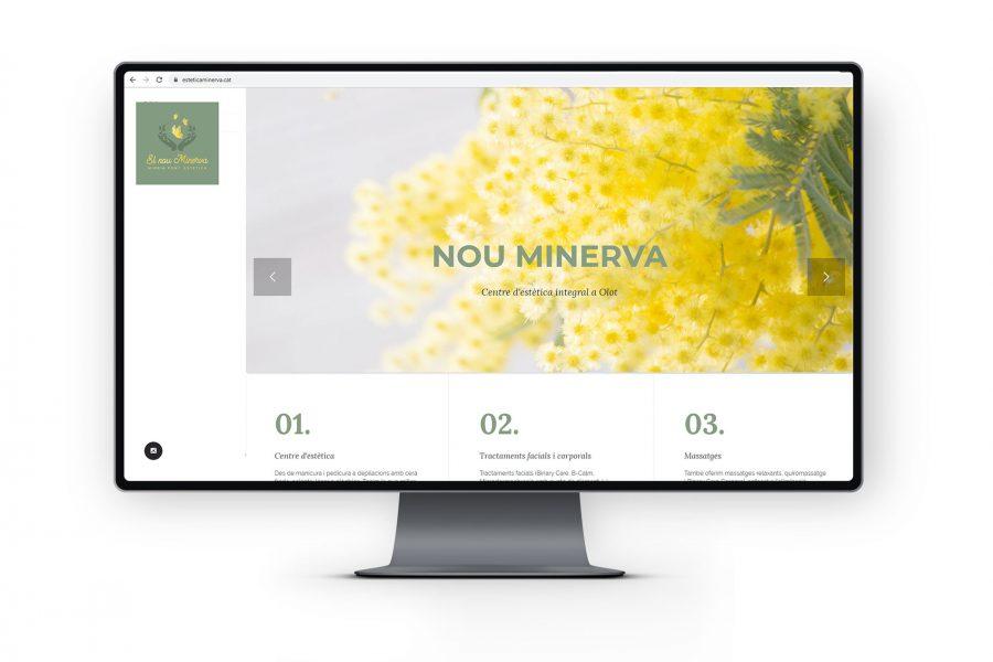 Web Estètica Minerva